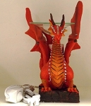 Red Dragon Resin Electric Tart and Oil Warmer