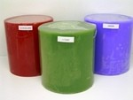 6X6 Scented Pillar Candle