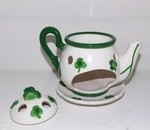 Ceramic Shamrock T-Lite Warmer
