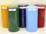 3X6 Inch Scented Pillar Candles