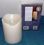 Motion Flame, 3X4 Flameless LED Pillar Candle