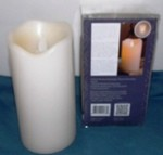 Motion Flame, 3X6 Flameless LED Pillar Candle