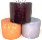 6X5 Scented Pillar Candles with Four Wicks