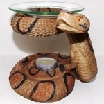 Snake T-Lite Resin Burner
