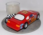 Race Car Votive Holder