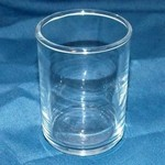 Clear Votive Cup