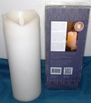 Motion Flame, 3X8 Flameless LED Pillar Candle