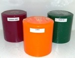 4X4 Four Inch Scented Pillar Candles