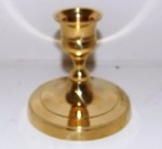 Solid Brass Taper Holder